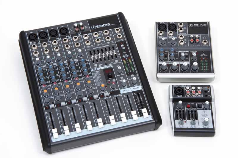 Compact Mixing Desks
